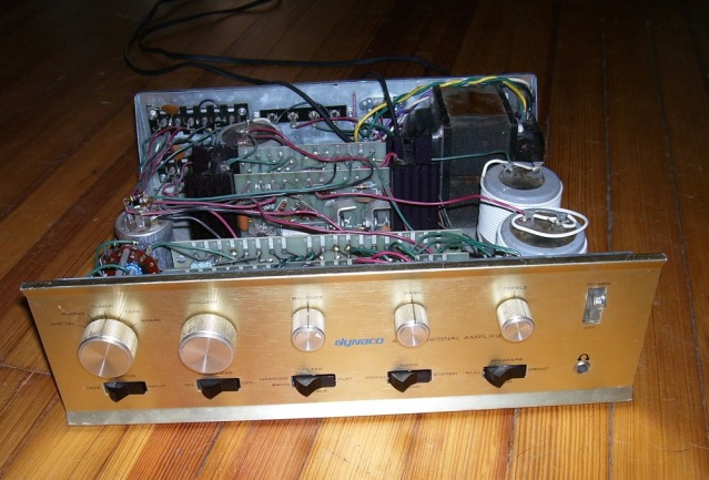 Dynaco SCA 80 – update and rebuild