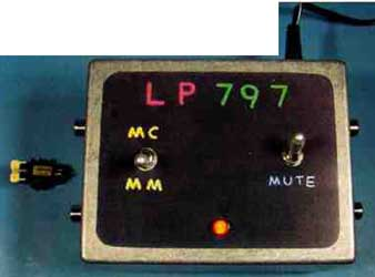 Ultra-Low Distortion Phono Preamp: The LP-797