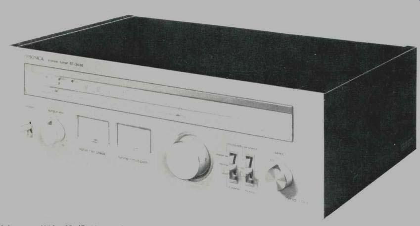 optonica st 3636 am fm stereo tuner dec 1978 rh gammaelectronics xyz