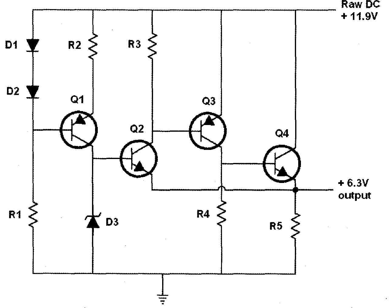 Regulated Power Supply For Vacuum Tube Valve Electronics Projects 300v Variable High Voltage Circuit Schematic Figure 4 Heater Originally Published In Elektuur Dutch Version Of Elektor Raw Dc Comes From A 2209v 50va Transformer 250v 10a Bridge