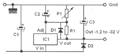 regulated power supply for vacuum tube  valve  electronics projects